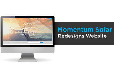 Momentum Solar Redesigns Website