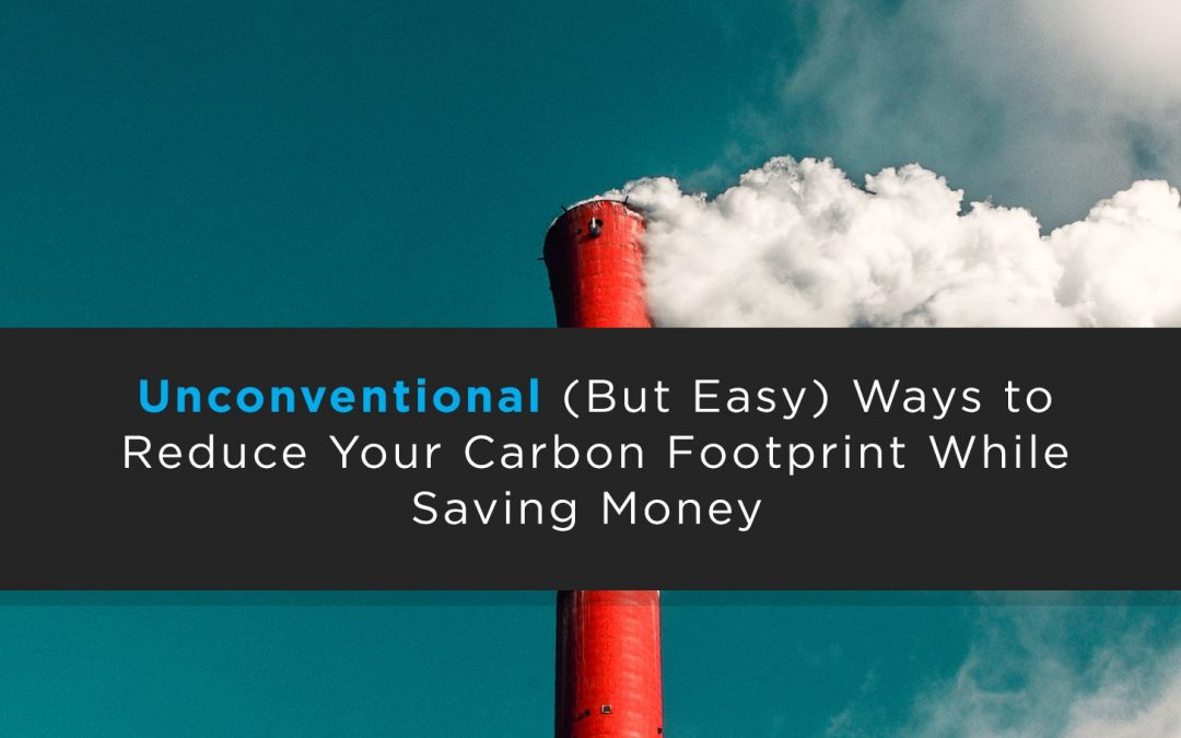 10 Unconventional (But Easy) Ways to Reduce Your Carbon Footprint While Saving Money