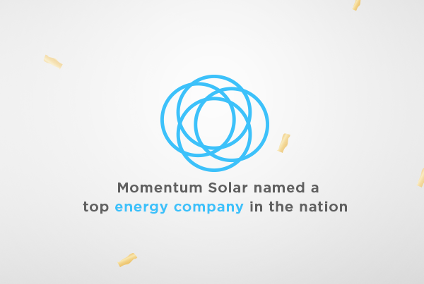 Momentum Solar Named a Top Energy Company in the Nation