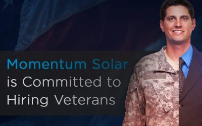 Momentum Solar is Committed to Hiring Veterans